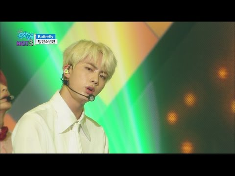 [Comeback stage] BTS - Butterfly, 방탄소년단 - 버터플라이 Show Music core 20160514