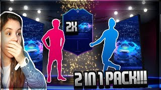 FIFA 19 OMG!! 2 CHAMPIONS LEAGUE SPIELER IN ONE PACK!! UCL PACK OPENING LIVESTREAM ⚽️🏆 I CheckCatz