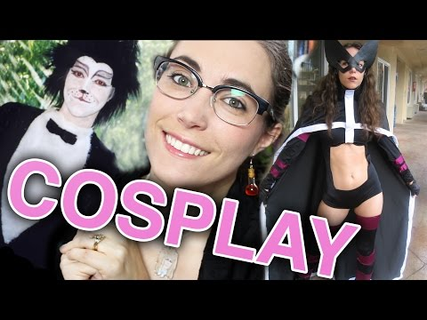 My Cosplay and Costume History