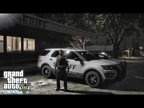 GTA 5 MODS LSPDFR 0.4.1 - LAKE COUNTY PATROL!!! (GTA 5 REAL LIFE PC MOD) 4K