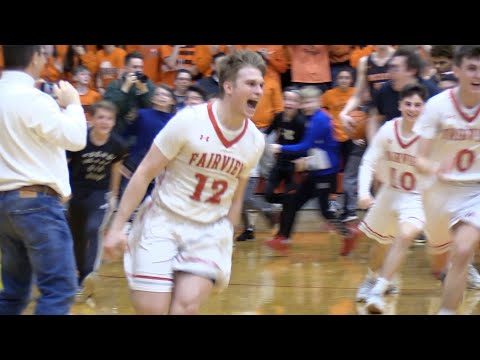 Luke Howes' buzzer-beater lifts Fairview to district semifinals