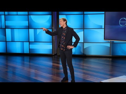 Cute Cats and Stupid Self-Defense Lessons: Ellen Checks Out Amazing Viral Videos