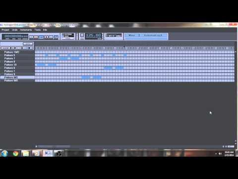 Hydrogen Drum Machine In Mix