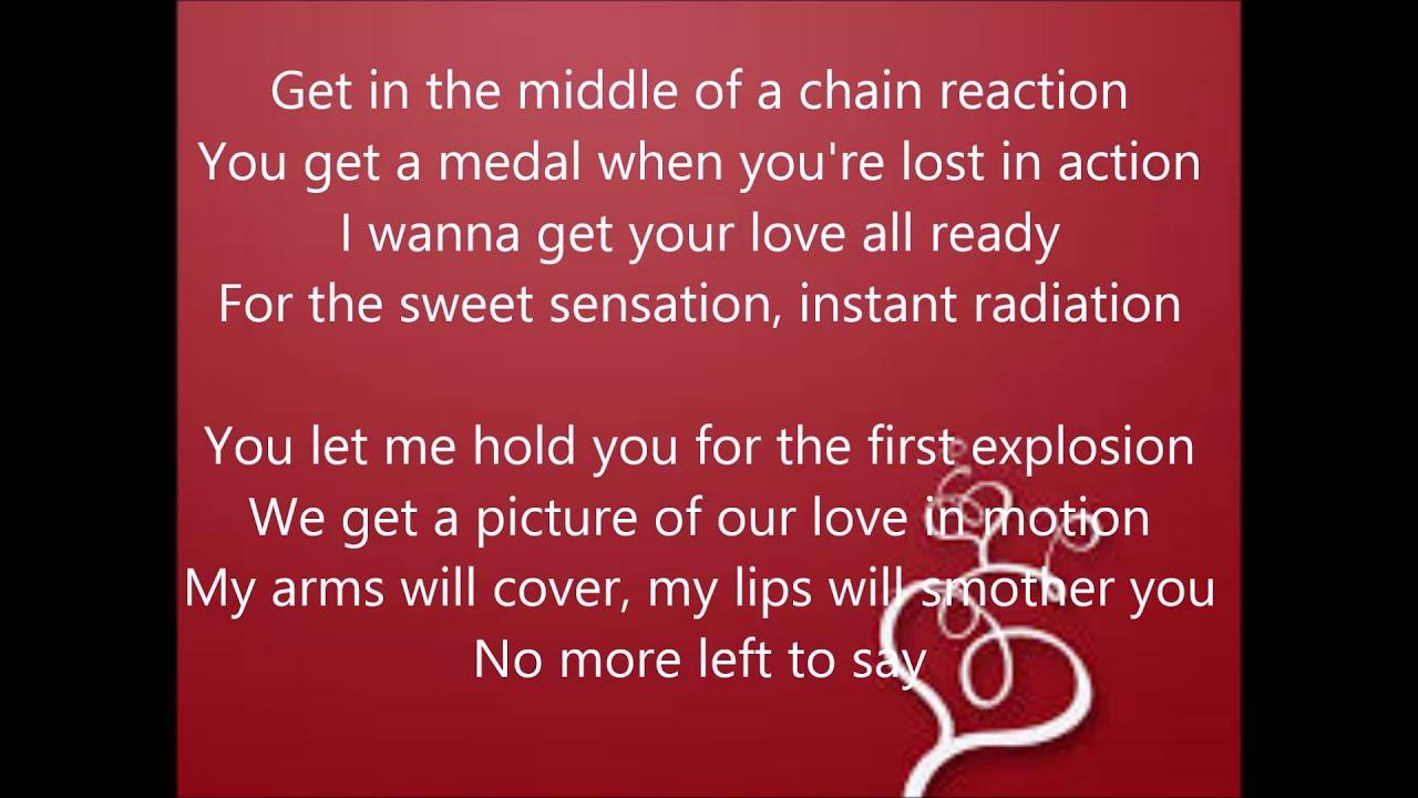 steps chain reaction lyrics - YouTube - photo#32
