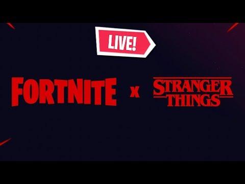 *NEW* FORTNITE STRANGER THINGS (Fortnite Battle Royale)
