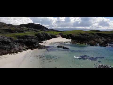 Clachtoll Beach DJI Mavic Air Footage