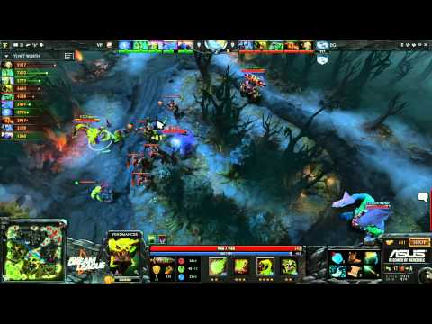 VP vs EG - DreamLeague #2 - playoffs - G2