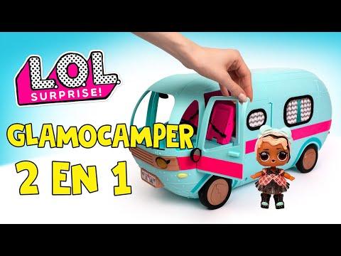L.O.L. Sorpresa 2 en 1 Glamper con muñeca exclusiva! 🚙