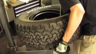 Hummer Truck Tire Change