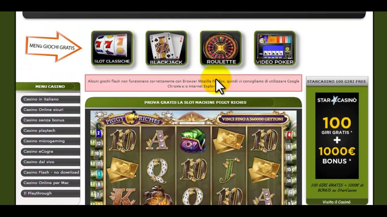 Giochi Gratis Slot Machines