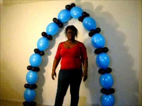 One Balloon Arch Three Ways by Airwaves Balloon Decor in Waterford, MI.