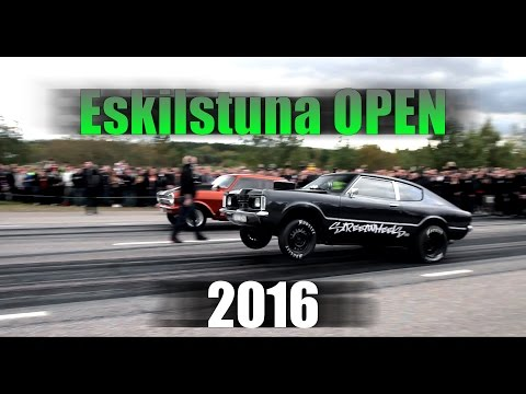 Eskilstuna OPEN 2016 / Swedish illegal streetracing on public roads