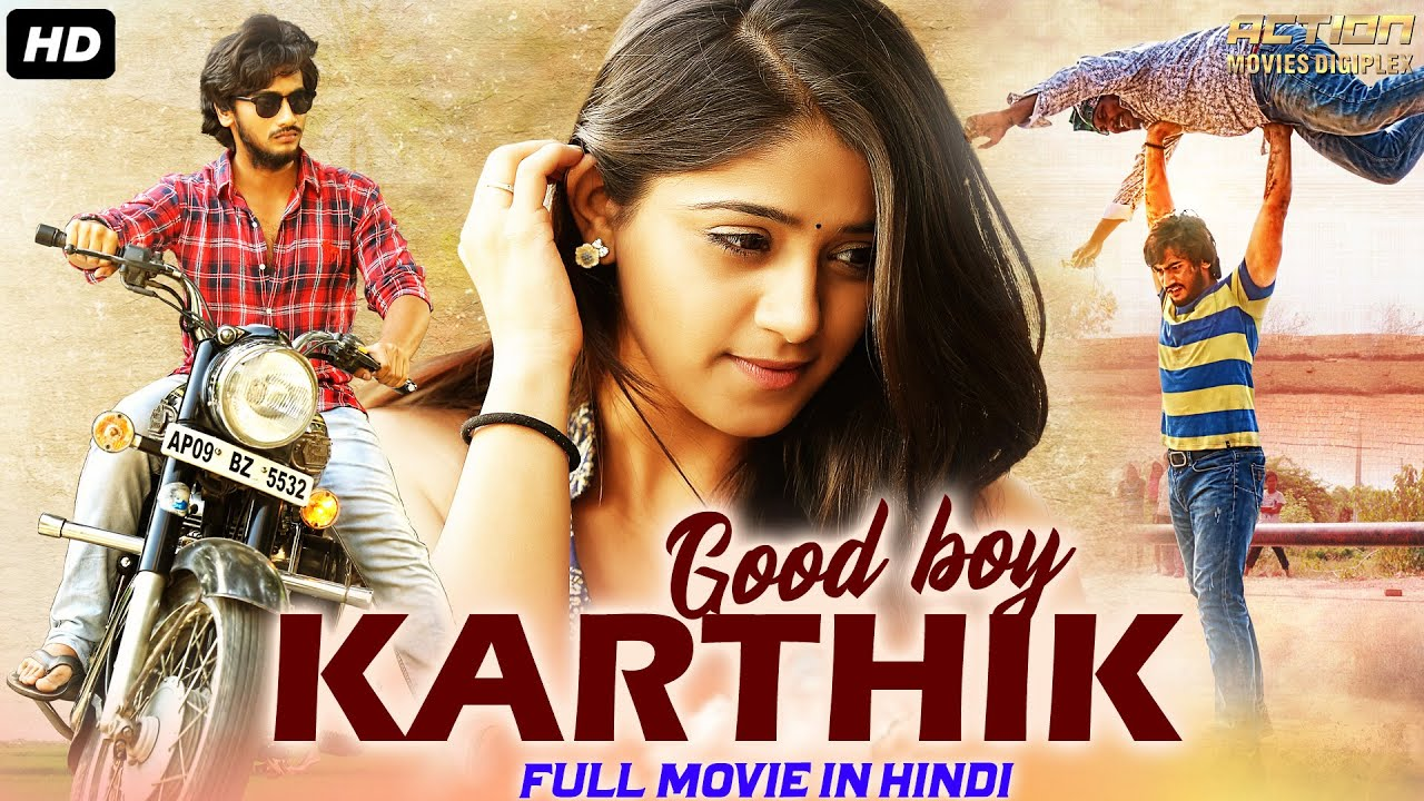 GOOD BOY KARTHIK - Hindi Dubbed Full Action Romantic Movie   South Indian Movies Dubbed In Hindi