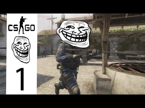CS:GO Trolling - Wall Hack Prank!!!