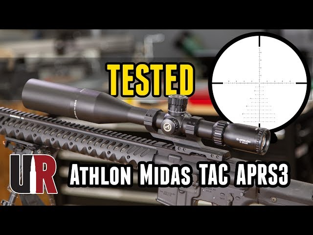 TESTED: Athlon Midas TAC APRS3 FFP Riflescope