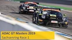 ADAC GT Masters Race 1 Sachsenring 2019 Re-Live English