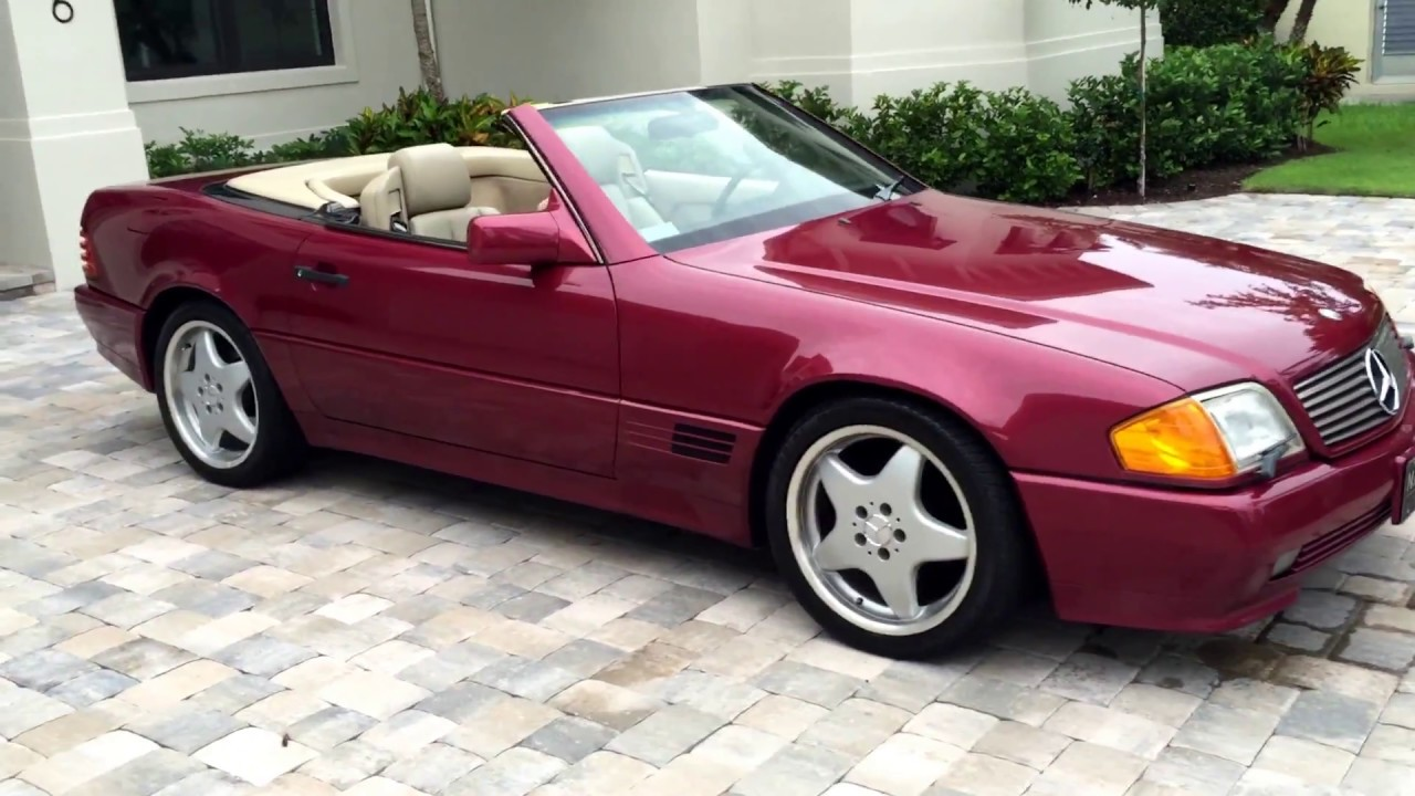 1990 Mercedes Benz 300sl Roadster For By Auto Europa Naples Mercedepert You