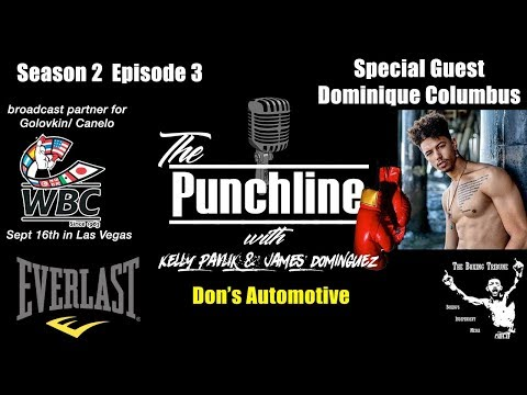 The Punchline Season 2 Episode 3 (Dominique Columbus and Paulie Malignaggi)