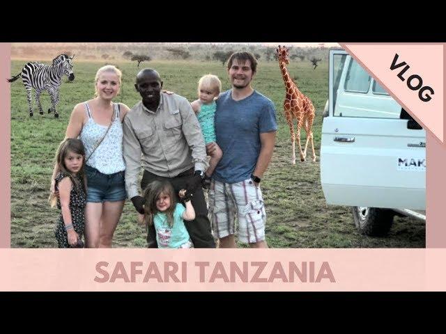 SAFARI TANZANIA 🦒 met 3 KINDEREN 🦓🐆😍 | 🇹🇿 Afrika reis VLOG #1 | Kellycaresse