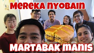 Download Video Teman dari luar negri nyobain Martabak manis | International Dinner | #39 MP3 3GP MP4