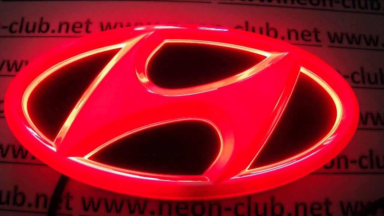 Captivating Hyundai Accessories IX 35, Santafe, Genesis Coupe, Sonata, Genesis Led  Badge   YouTube