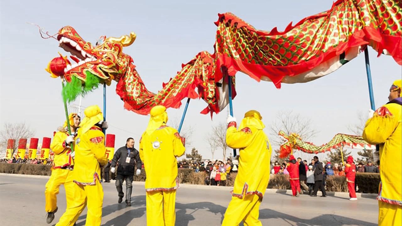 44c5dc94b very interesting Chinese new year dragon costume - YouTube
