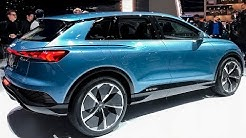Audi Q4 E-Tron 2020 - Interior and Exterior Walkaround