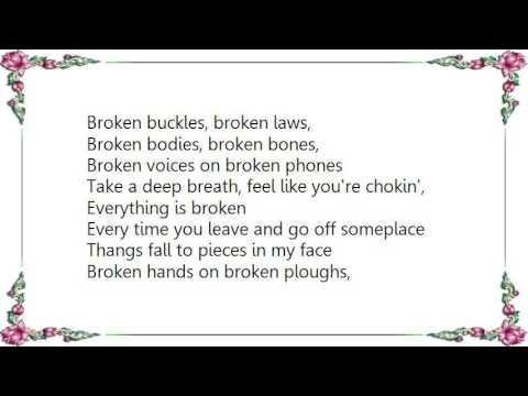 Kenny Wayne Shepherd - Everything Is Broken Lyrics