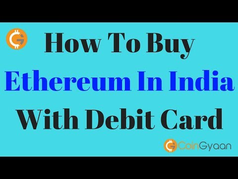 How To Buy Ethereum In India With Debit Card | HINDI