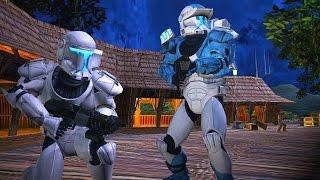 Star Wars Battlefront 2 Mods: Kashyyyk Depot