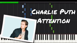 Charlie Puth - Attention Piano Tutorial