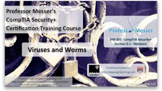 Understanding Viruses and Worms - CompTIA Security+ SY0-301: 3.1