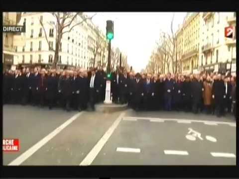 MARCHE RÉPUBLICAINE DU JE SUIS CHARLIE: LA FRANCE CAPITALE DU MONDE