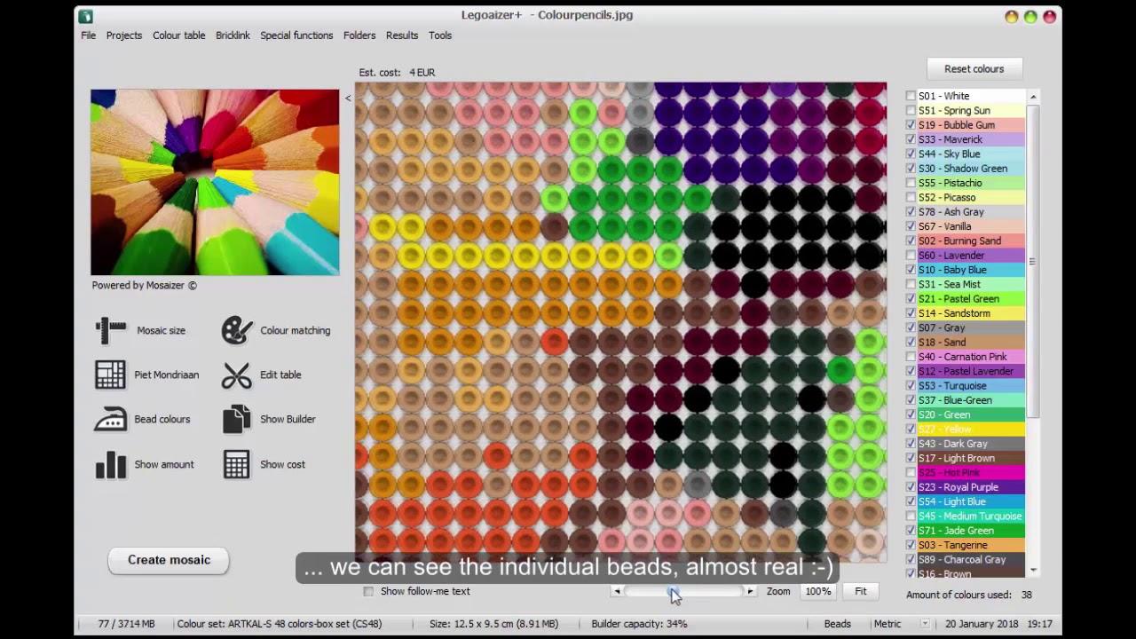 Artkal Perler Bead Mosaic Tool: 1  How to start
