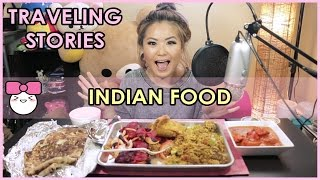 INDIAN FOOD for the FIRST TIME  | MUKBANG
