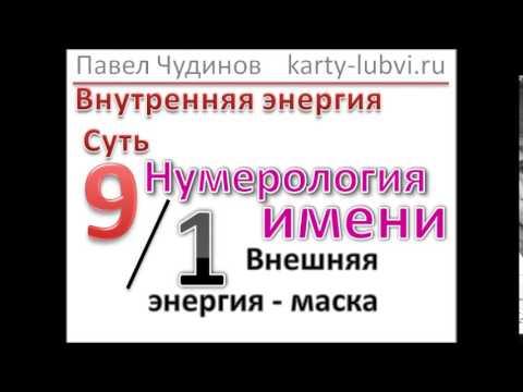 Нумерология онлайн, бесплатно рассчитать Число Судьбы по имени