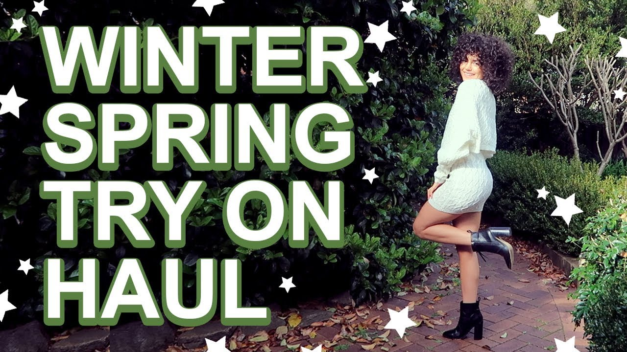 WINTER/SPRING CLOTHING HAUL | Outfit Ideas 9