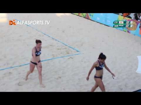 Beach Volley Women | Cyprus Vs San Marino | 30/05/2017 | VoD