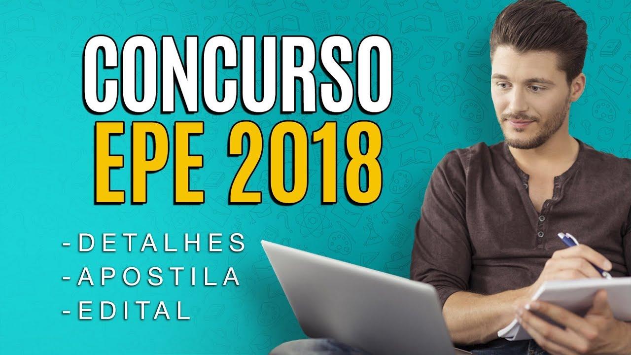 c908e4827 Concurso EPE 2018 - Edital