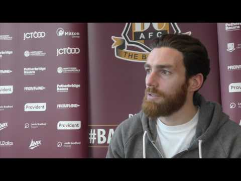 Romain Vincelot ahead of Bolton Wanderers home fixture