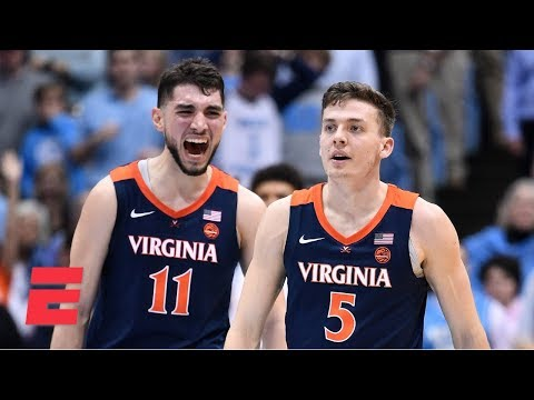 Virginia edges UNC in ACC showdown | College Basketball Highlights