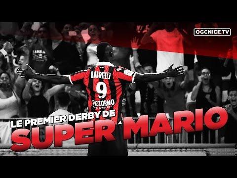 L'ovation du public niçois pour Mario Balotelli