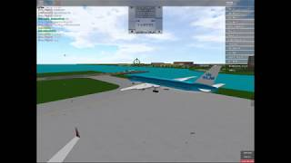 KLM flight 1508 / place with airliners / ROBLOX