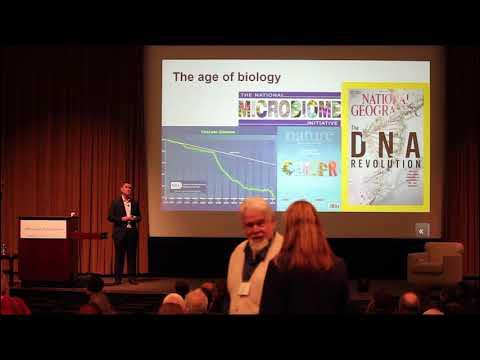 "2018 UNC Clean Tech Summit: Adam Monroe - ""Harnessing Nature's Tiniest Workhorses..."""