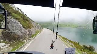 30 minutos del camino miedo INCREIBLEMENTE BONITO! Lagos de Covadonga.