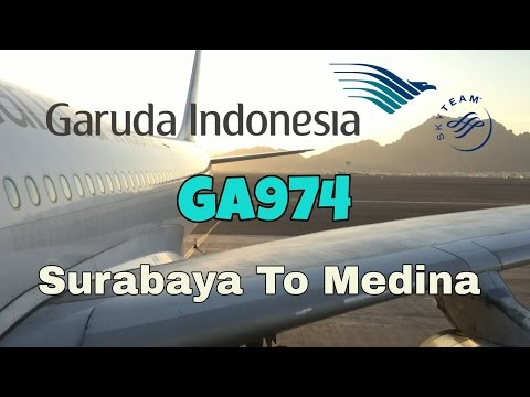 Flight Report | Garuda Indonesia Airbus A330-300 GA974 Surabaya to Medina