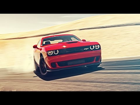 Insane 707bhp Dodge Challenger Hellcat takes on the 'Loops' | Top Gear