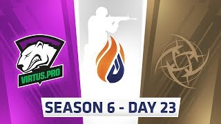 ECS Season 6 Day 23 Virtus.pro vs NIP - Cache