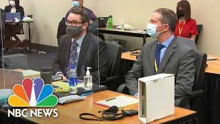 Enjoy: Day 6 Of Derek Chauvin's Trial|NBC News  | NewsBurrow thumbnail