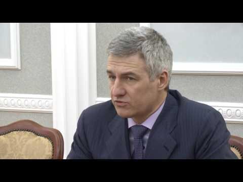 Артур Парфенчиков напутствовал нового министра здравоохранения Карелии